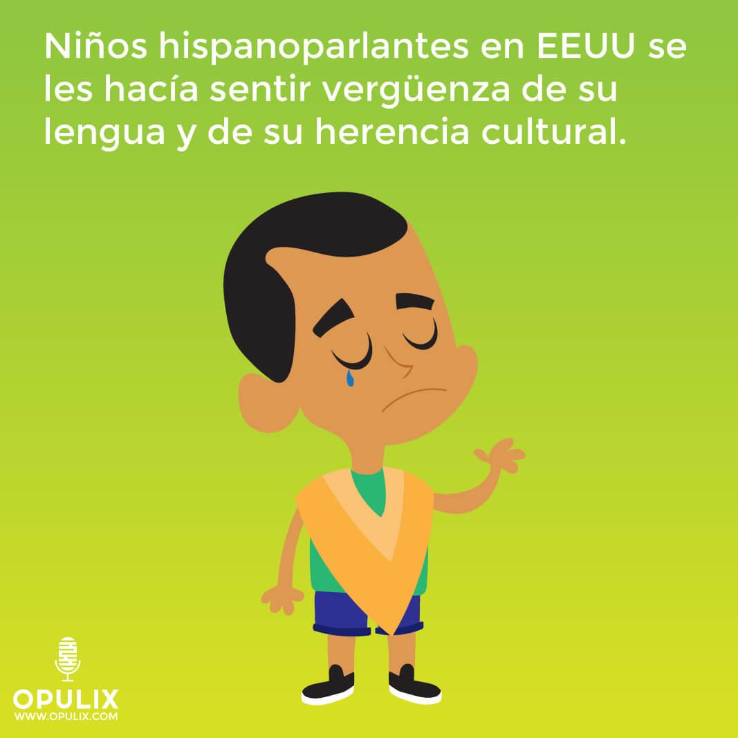 Niños hispanohablantes en EEUU