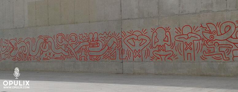Keith Haring, Macba, Barcelona