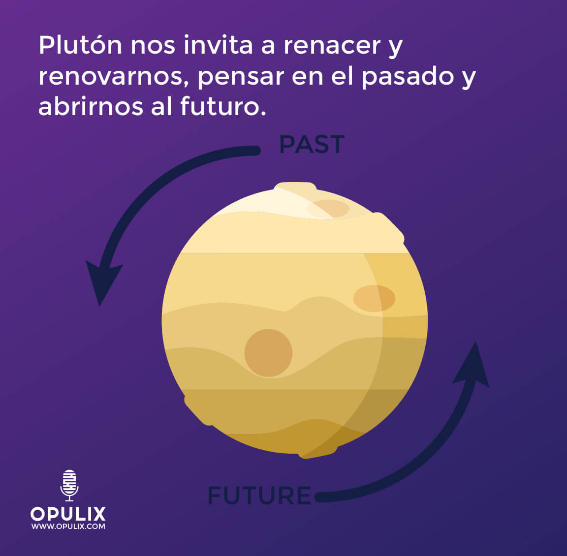 Renace con la energía de Plutón Retrogrado