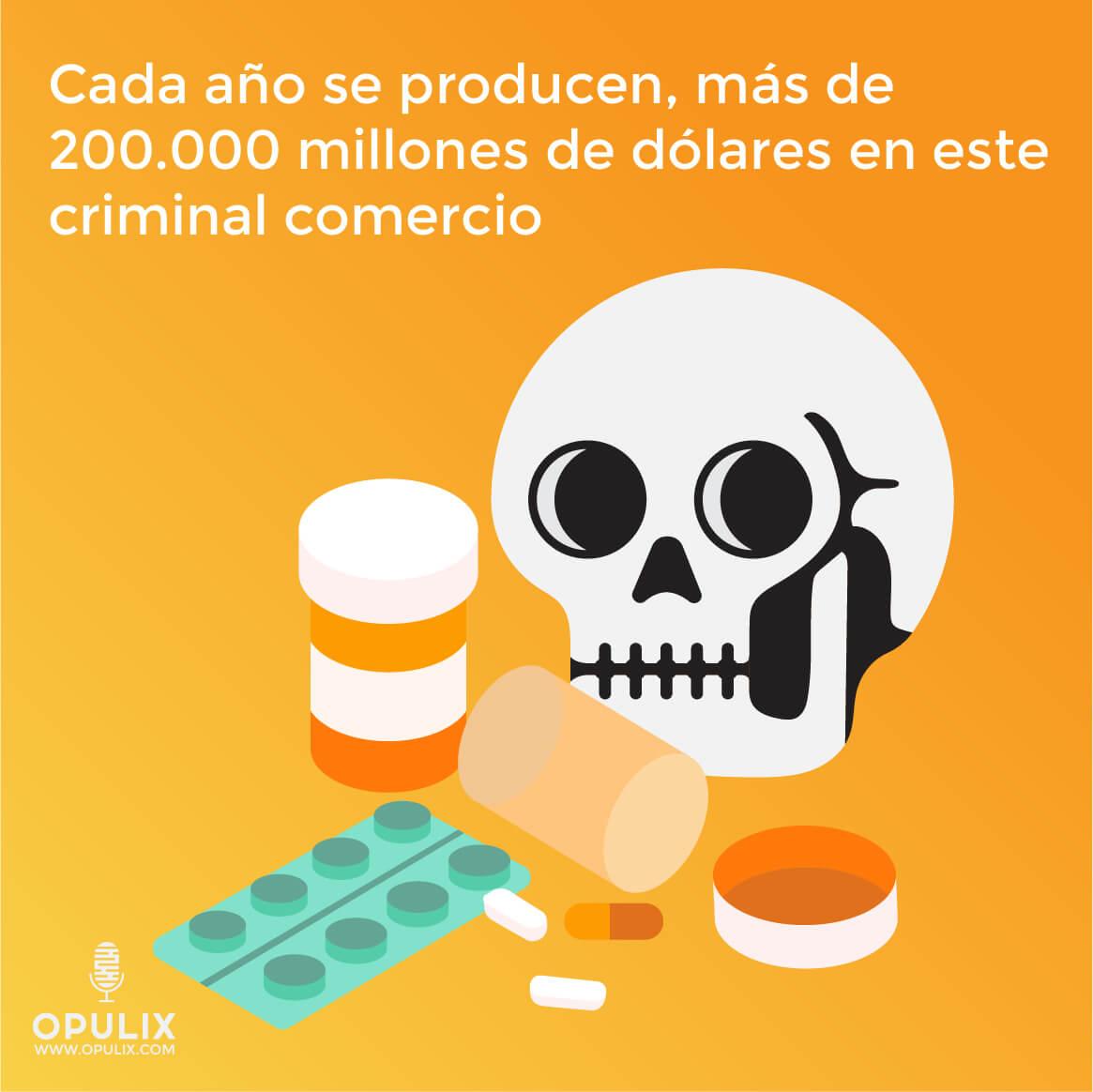 La falsificación de medicamentos: delito mortal