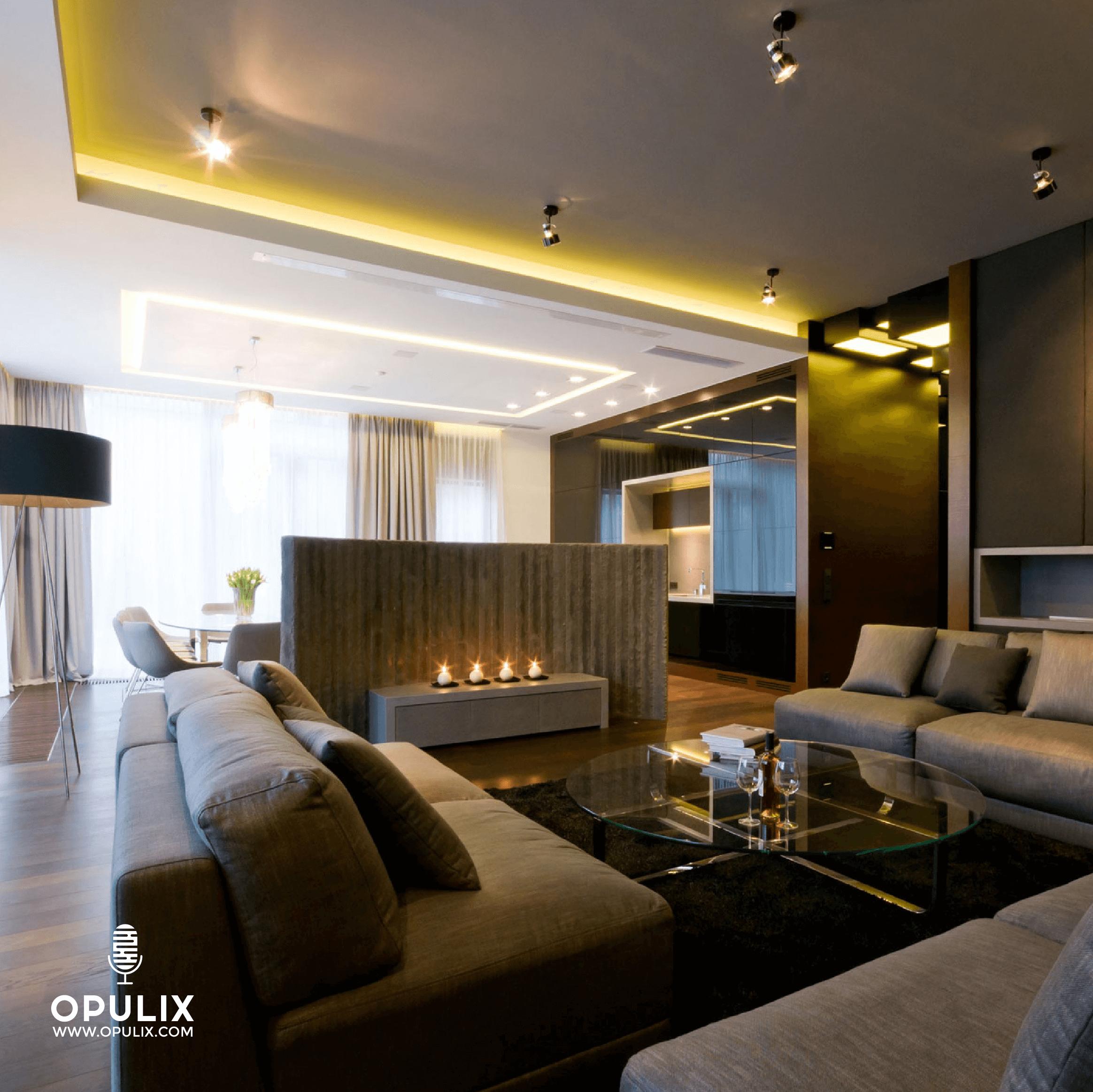 Open plan, ideas para diseñar el living room con ventana en escuadra