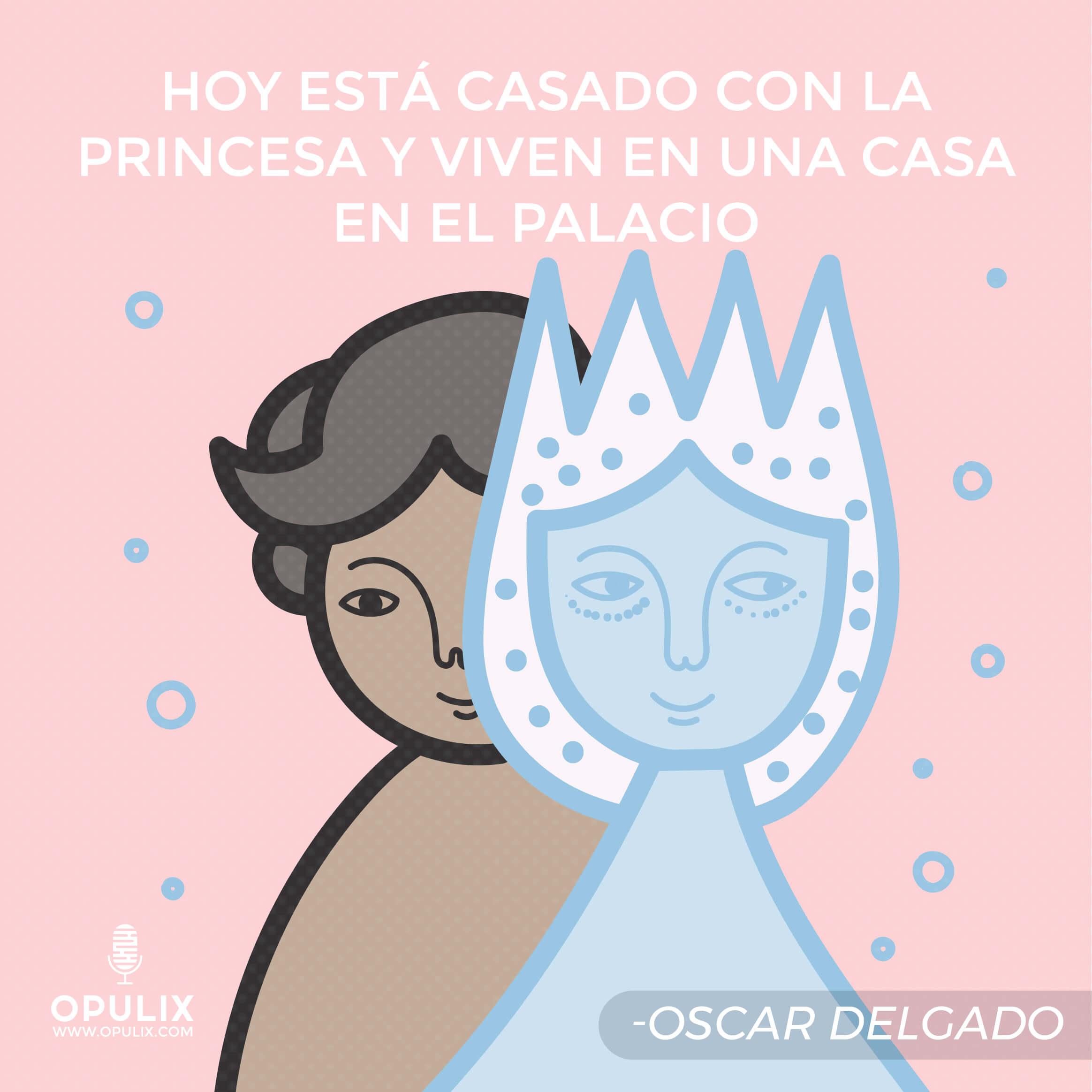 La increible historia de la princesa azul