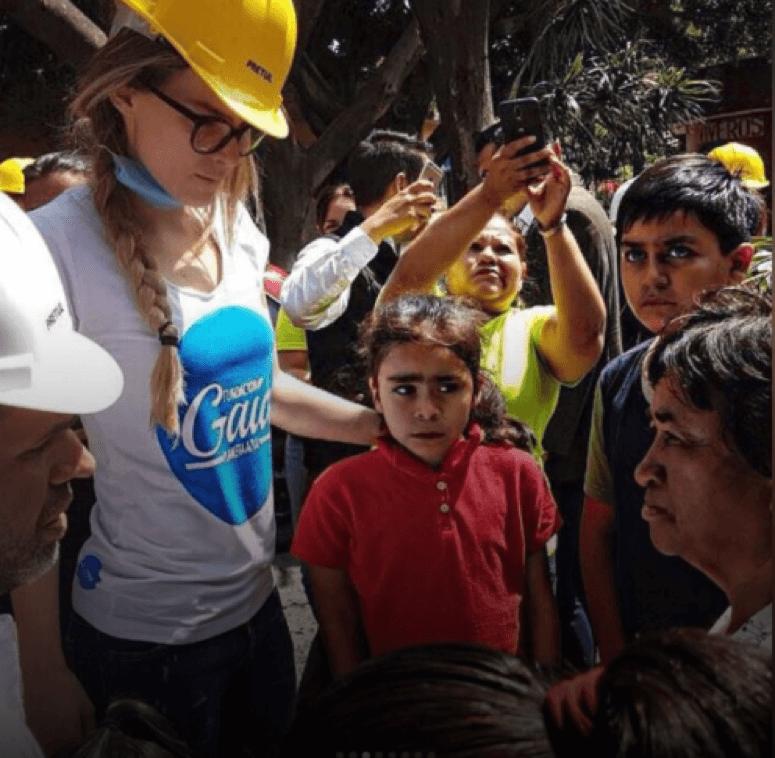 Los famosos mexicanos que se volcaron tras el terremoto