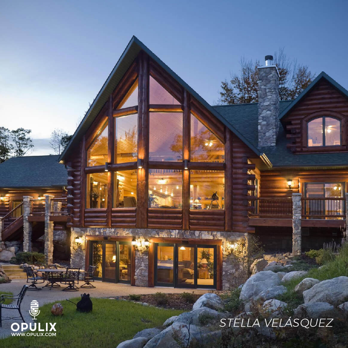 House, Wood, Stone, Glass, Ideas Para Diseñar Una Casa En La Montaña.