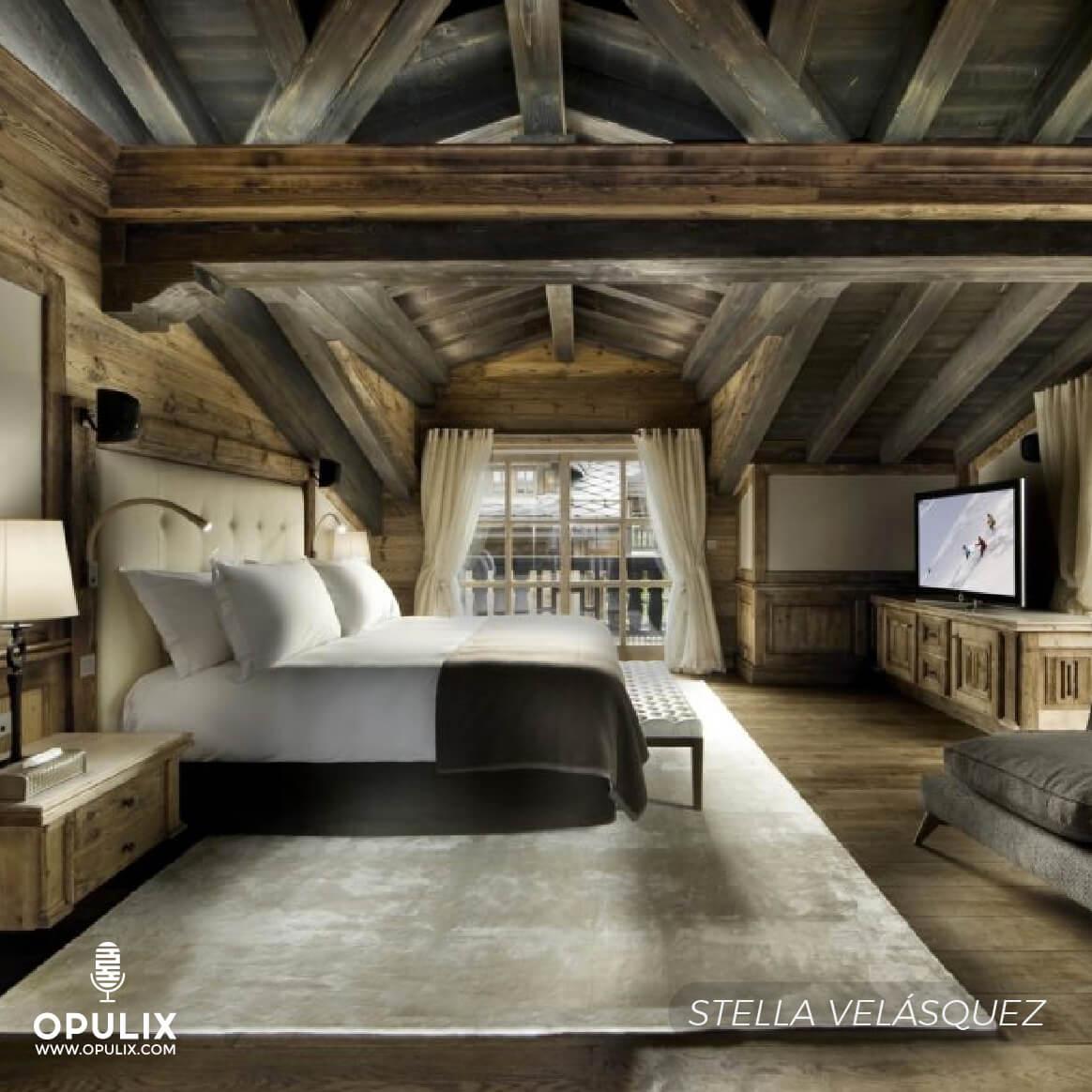 House wood stone glass ideas para dise ar una casa en - Apartamentos de montana ...
