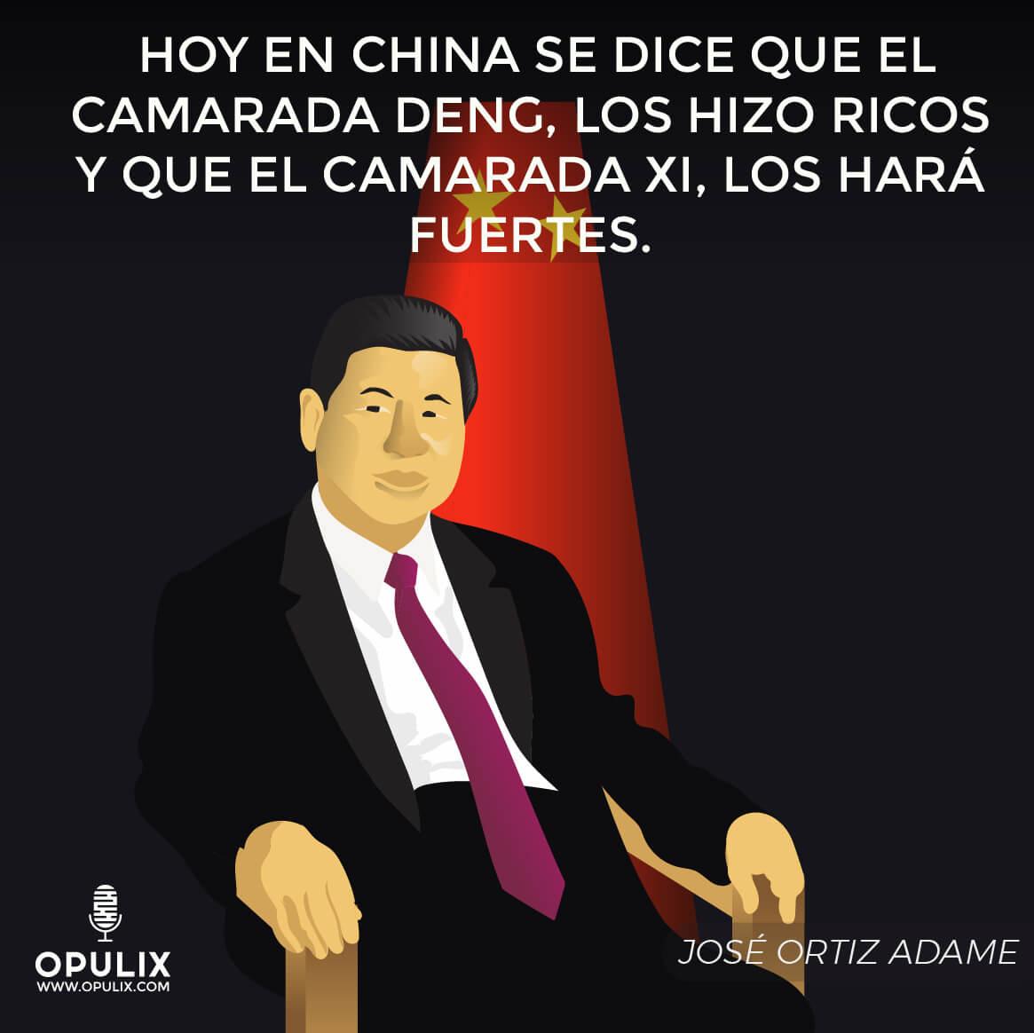 XI JINPING, el nuevo líder del mundo