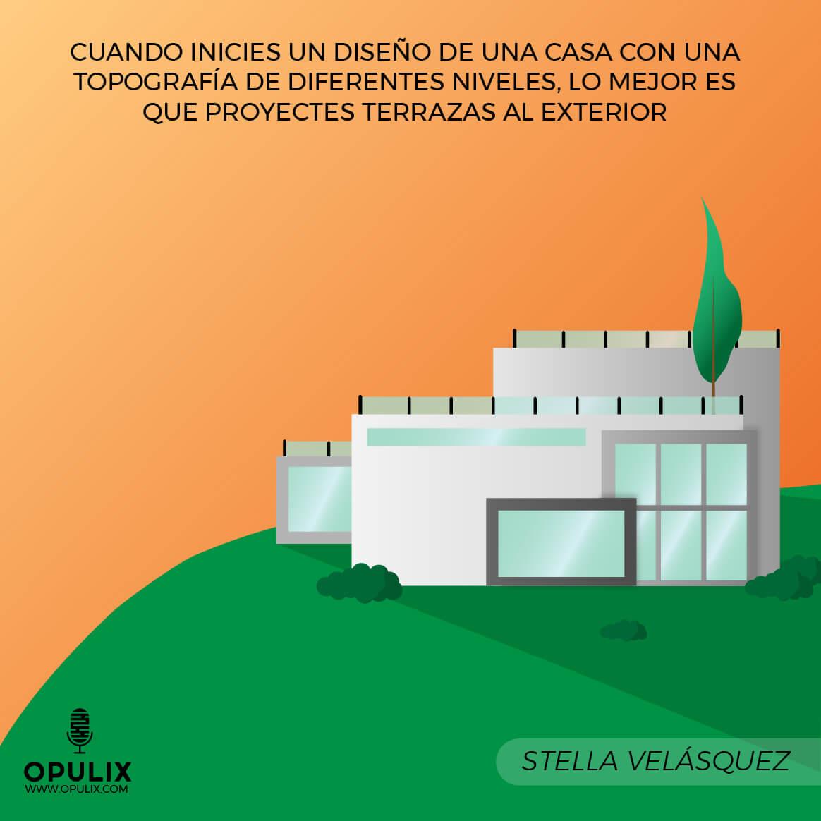 Modern House, Terraces, Different Levels, Design, Ideas
