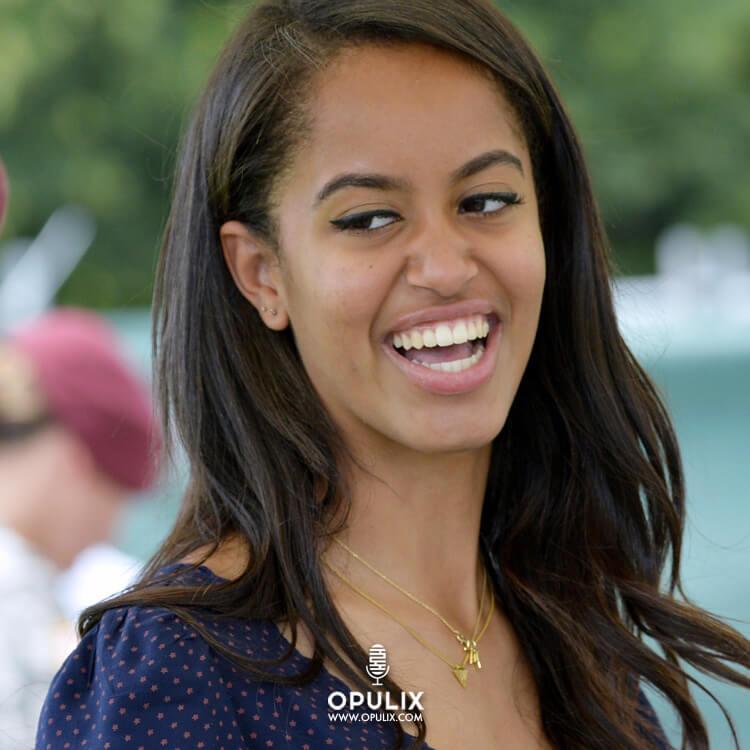 La hija de Obama y su novio