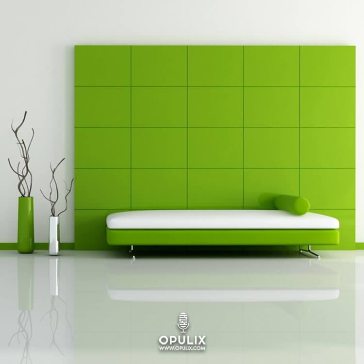 Decorar la casa en verde