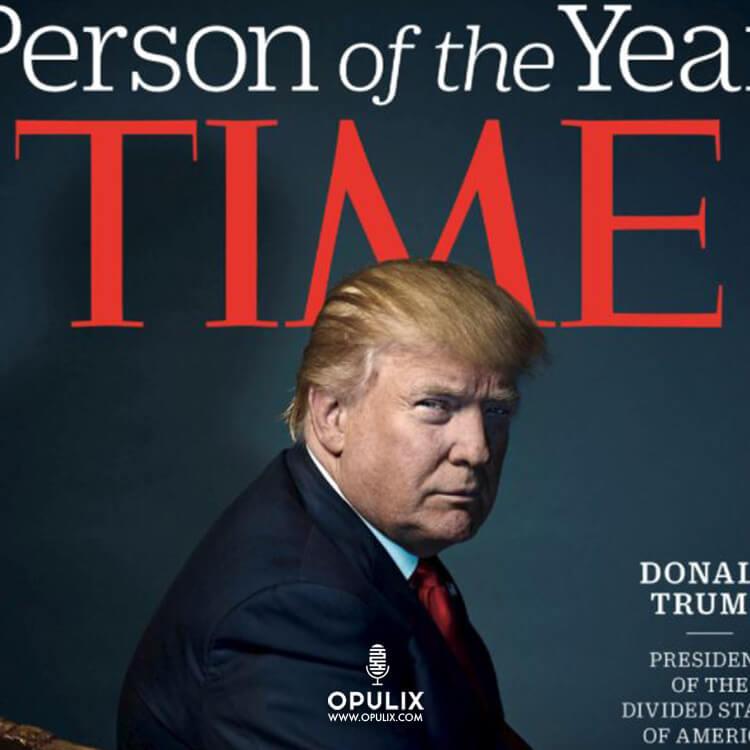 Donald Trump en portada de TIME