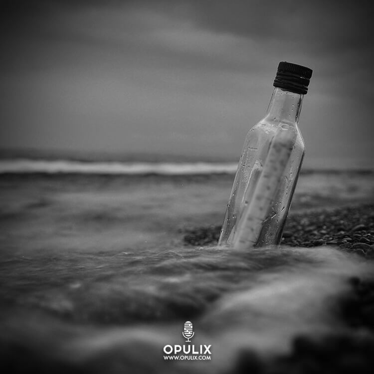 Una botella en el mar