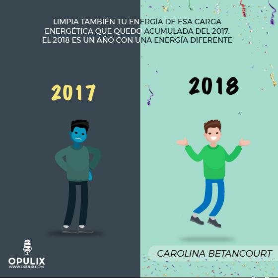 Cambio de año – cambio de energía 2017 – 2018