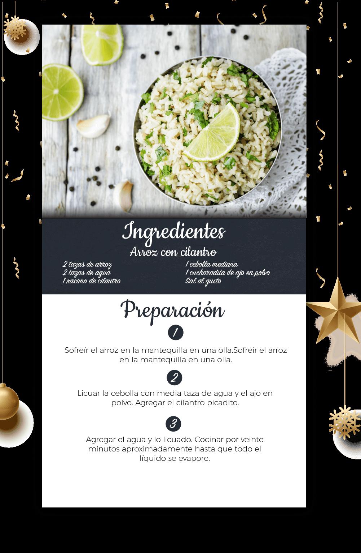 Menú Y Mesa Para Celebrar El Año Nuevo – Parte 2